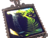 5x9 Cast Iron Framed Photograph - Waterfall Lullaby