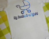My Stroller is a Hybrid Baby Onesie - You Pick the Size