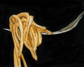 PASTA 3 - ACEO - ITALIAN COOKING ART Giclee print from my original oil painting