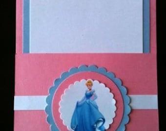 Cinderella Pocket Invitations
