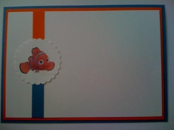 so cute finding nemo invitations by elonacreations on etsy