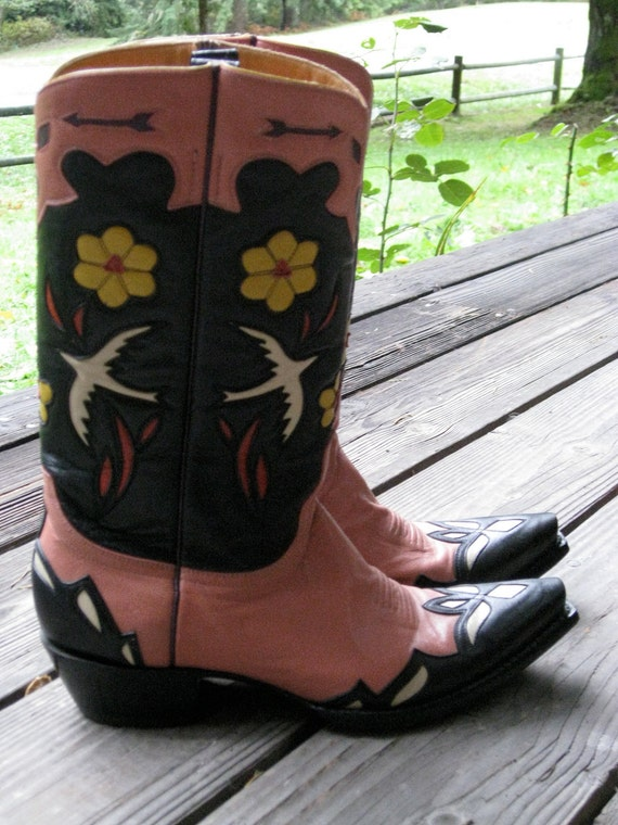 RESERVED FOR Lucky JACKIE Cowgirl Happy Boots