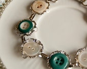 Sonja -  bracelet with vintage buttons