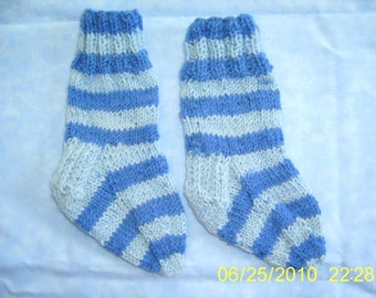 Baby Wool Socks Size 2 Maine Made