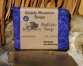 Montana Huckleberry Buffalo Soap