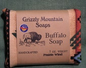 Prairie Wind, Lavender and Sage Buffalo Soap