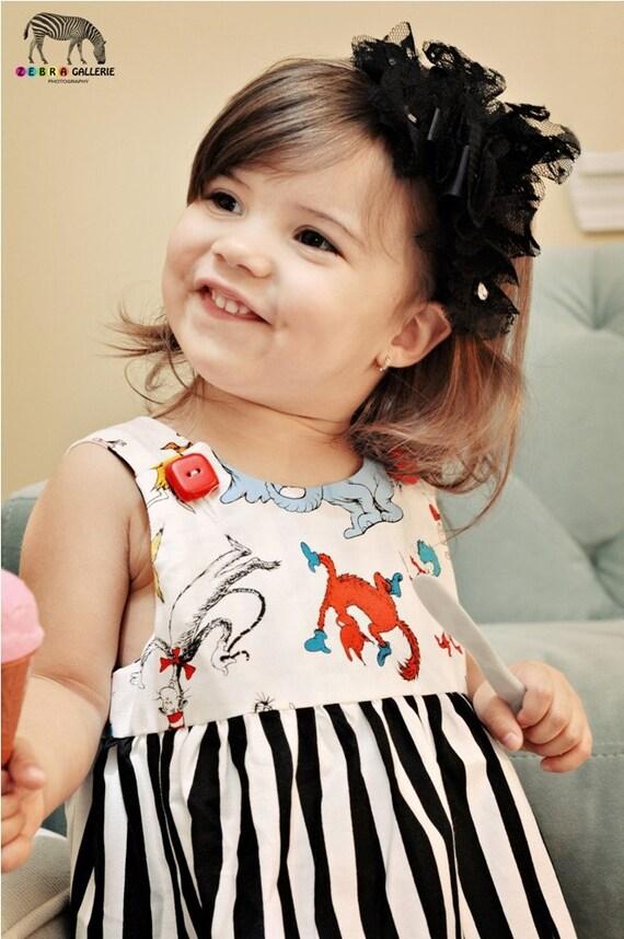 Seuss Stripey Toddler Jumper or Tunic etsykids team