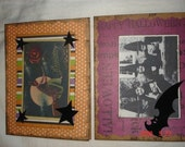 Set of 4 Halloween cards