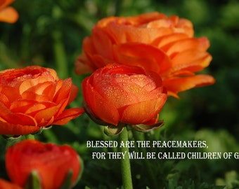 Original Print - Blessed are the Peacemakers