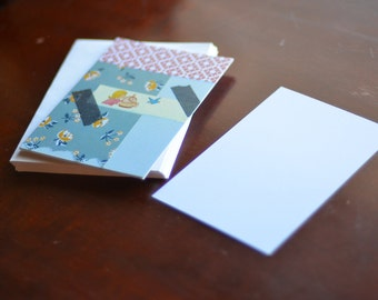 Fly Away Postcard with envelope