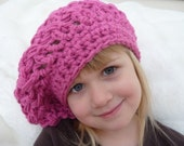 instant Download PATTERN Crochet Pattern Slouchy Hat Child and Adult