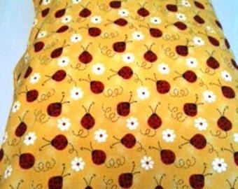 Lady Bug Child or Travel Pillowcase
