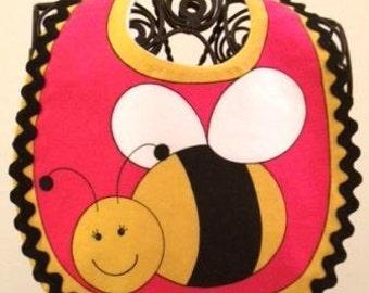 Bee Infant Baby Bib