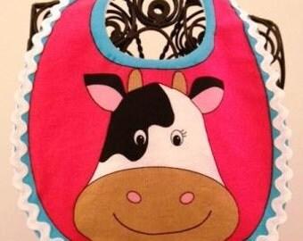 Cow Infant Baby Bib