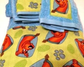 Scooby Doo Towel Set