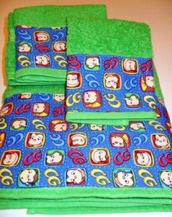 . Curious George Towel Set