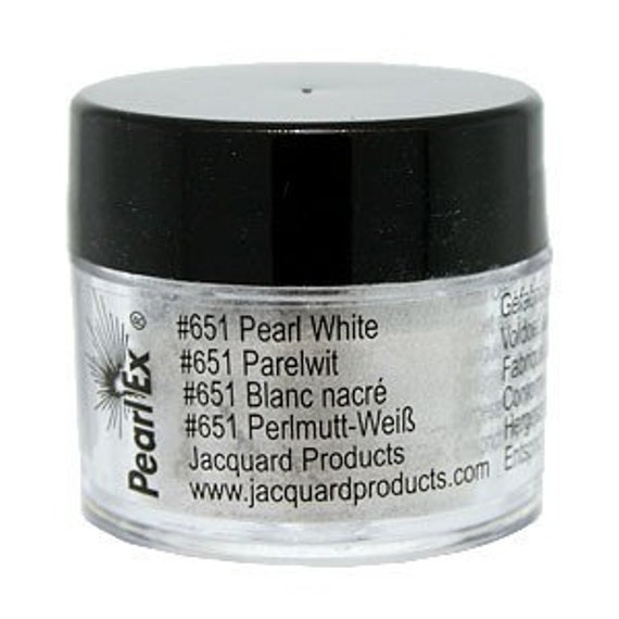 Pearl White Pearl Ex Powdered Pigment- Liquidation Sale