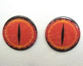 Lord of the Rings Buttons, Eye of Sauron, Dragon Eyes