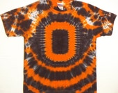Tie Dye Shirt, Oregon State Beavers Football T-Shirt, Size Youth Large