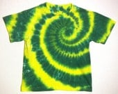 Yellow and Green Spiral Youth Small