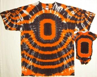 Tie Dye Shirt, Oregon State Beavers Football T-Shirt