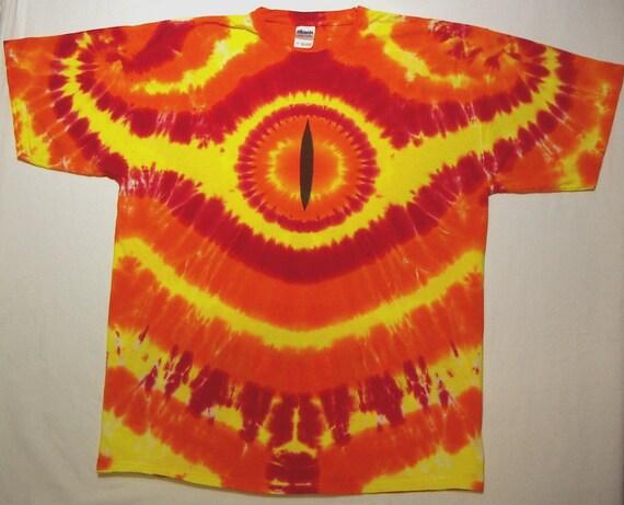 Eye of Smaug Tie Dye - T-Shirt 2XL