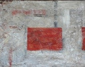 Modern Original Abstract Fine Art Texture Painting, Neutral Abstract, HUGE 36x48