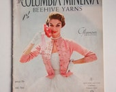 Lee's Columbia Minerva BeeHive Yarn Knitting Glamour Sweater Patterns 1953 First edition
