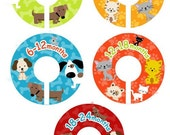 Closet Dividers - Cats and Dogs Unisex for Boys and Girls