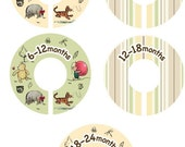 Classic Winnie The Pooh Closet Clothing Dividers