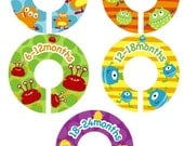 Lil Monster Closet Clothing Organizer Dividers - Unisex for boys and girls