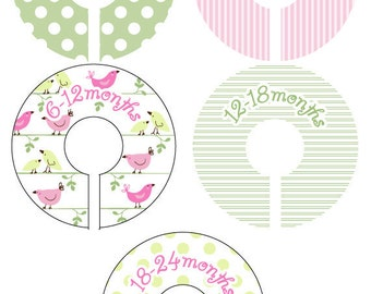 Penelope Closet Clothing Dividers for Girls