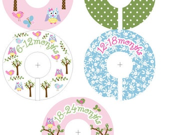 Hayley Closet Clothing Dividers for Girls -Potterybarn