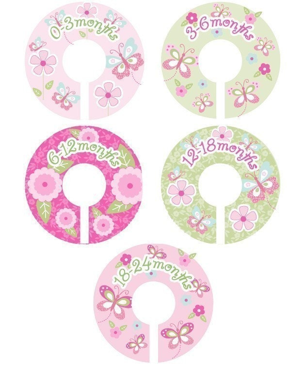 Baby Closet Dividers Organizer Clothing Dividers for Girls
