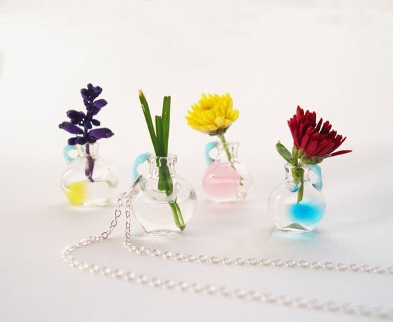REAL Tiny Vintage Vessel Necklace - YOU Are Sooo Lovely