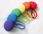 Classic Rainbow Hair Ties