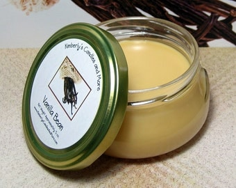 Vanilla Bean 6 oz. Tureen Jar Wickless Candle