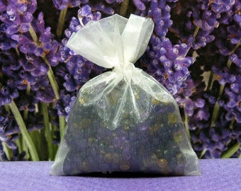 Lavender Aroma Bead Sachets (Set of 2) GREAT In THE CAR Air Fresheners