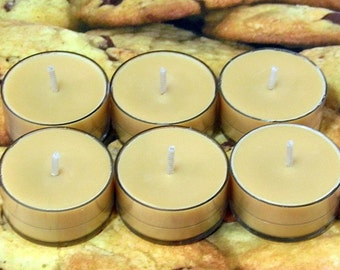 Cookie Dough PURE SOY Tea Lights (Set of 6)
