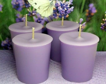 Lavender PURE SOY Votives (Set of 4)