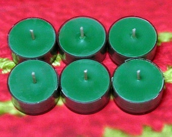 Home for the Holidays PURE SOY Tea Lights (Set of 6)