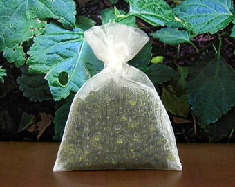 Patchouli  Aroma Bead Sachets (Set of 2)  GREAT in the  CAR Air Fresheners