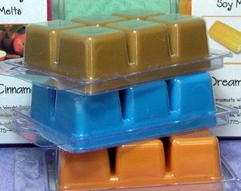 Any Six (6)  Clamshell Soy Wax Tart Melts SAVE