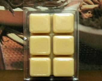 Creamy Cinnamon Vanilla Clamshell Soy Wax Tart Melts