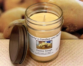 Cookie Dough PURE SOY Mason Jar Candle
