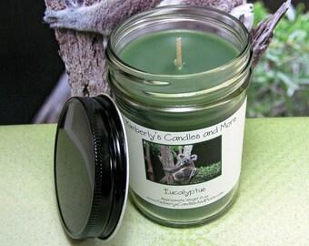 Eucalyptus PURE SOY Mason Jar Candle