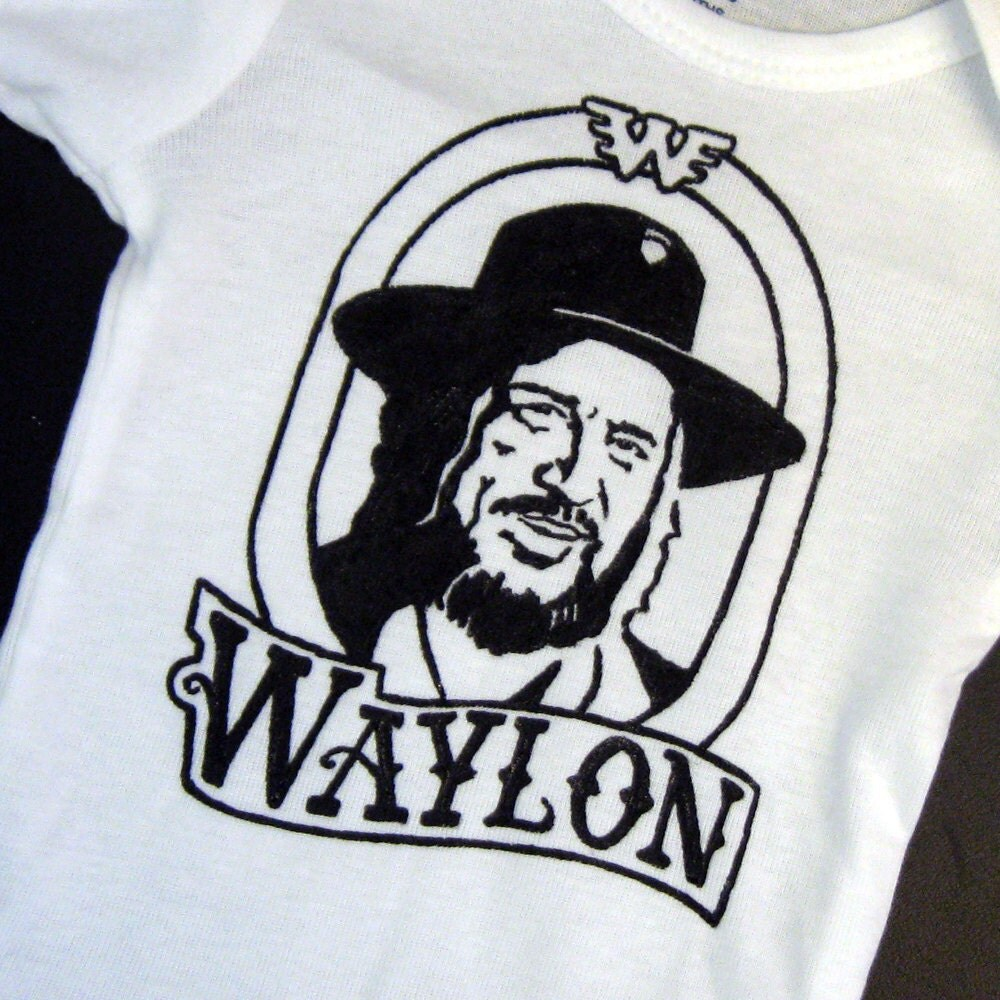 Waylon Jennings Flying W Symbol Stickers Waylon Jennings Merch Co