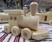 Train Set 6 Car  All Natural 5 Foot Long On Sale 10% off use coupon code mikestoys Weekend Sale Only