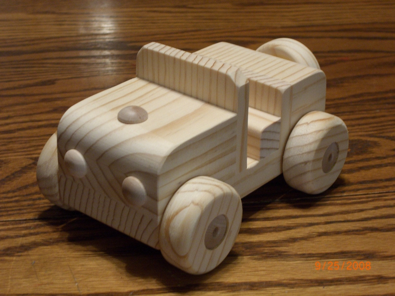 JEEP ALL NATURAL WOODEN TOY WALDORF