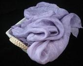 Playsilk 35x108 inches Purple Koolaid Dyed